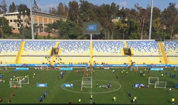 Estadio Sausalito fue escenario de los encuentros pre deportivos que realiza  la Municipalidad de Viña del Mar