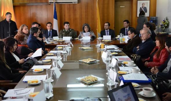 Consejo comunal de seguridad pública de Viña del Mar aprobó nuevos proyectos de seguridad para la ciudad en 2016