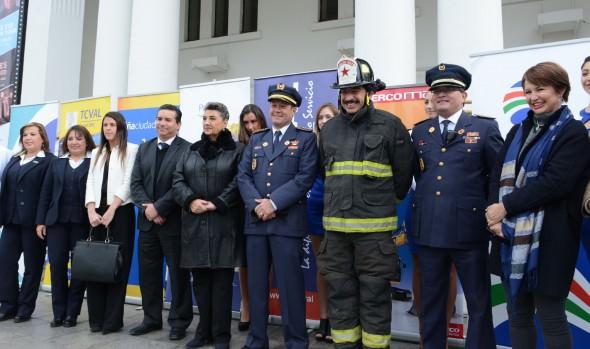 Lanzamiento de XXII Cena del Fuego de bomberos  encabezó  alcaldesa Virginia Reginato