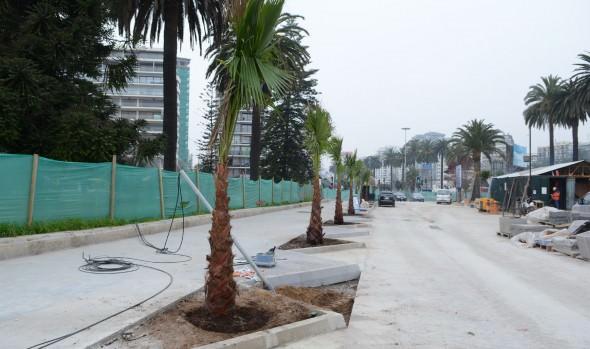 Obras finales de la totalidad de 1ª etapa de remodelación de Av. Perú fueron inspeccionadas por alcaldesa Virginia Reginato