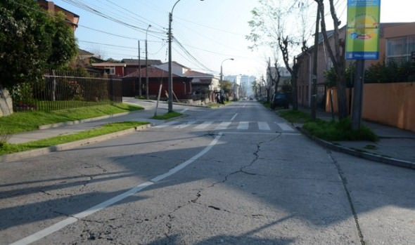 Municipio de Viña del Mar postuló reposición de vía estructurante de Recreo a fondos regionales