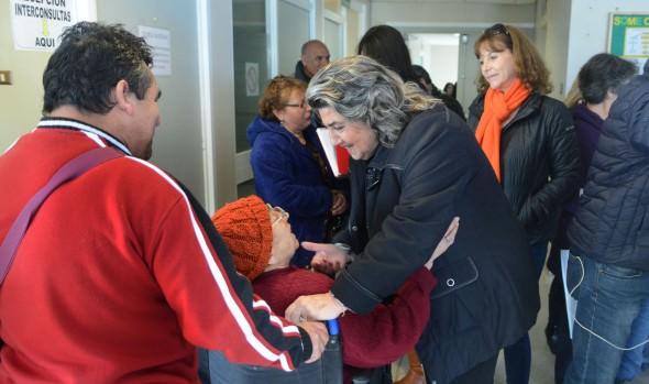 Centros de Salud de Viña del Mar están preparados para atender demanda de invierno, informó alcaldesa Virginia Reginato
