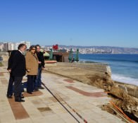 Municipio de Viña del Mar ejecutará obras de emergencia para reparar infraestructura en el borde costero
