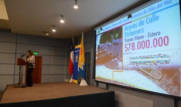 Emblemáticos proyectos anunció alcaldesa Virginia Reginato para el desarrollo del Casco histórico de Viña del Mar
