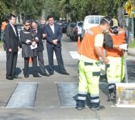 Municipio de Viña del Mar refuerza demarcación vial para potenciar seguridad de escolares