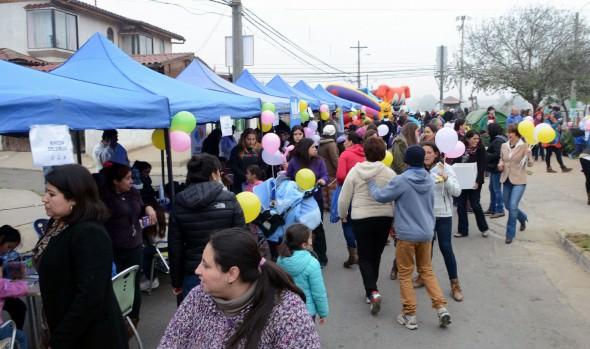 Dos mil niños participaron en exitosas jornadas de vacaciones de invierno en los barrios de Viña del Mar