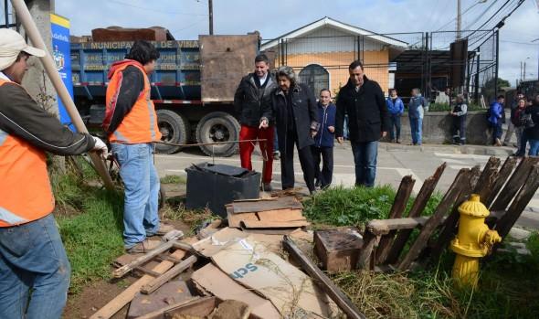 Municipio de Viña del Mar fomenta  programa de retiro de desechos voluminosos en la comunidad