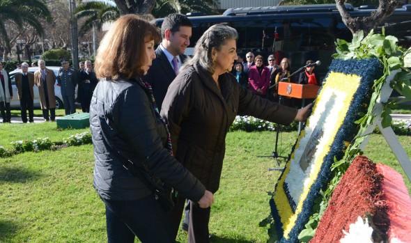 Éxito al nuevo Gobierno peruano deseó alcaldesa Virginia Reginato en 195° aniversario patrio del Perú