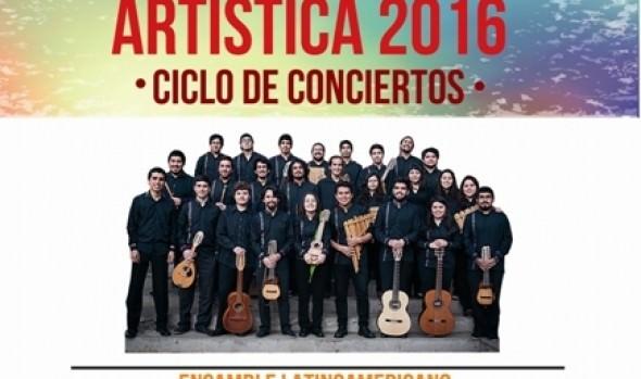 Municipalidad de Viña del Mar invita a concierto de Ensamble Latinoamericano ABYA YALA de la UPLA