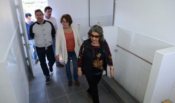 Remodelación del Complejo Municipal El Maitén entregó alcaldesa Virginia Reginato
