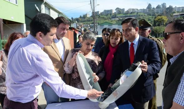 Municipio de Viña del Mar potencia seguridad en los barrios con instalación de nuevas luminarias