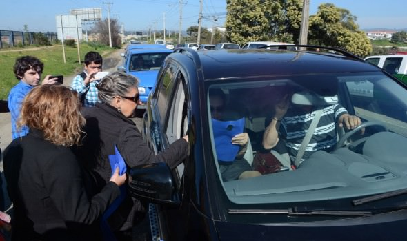 Autoridades llaman a conductores y peatones a actuar con responsabilidad durante fin de semana largo