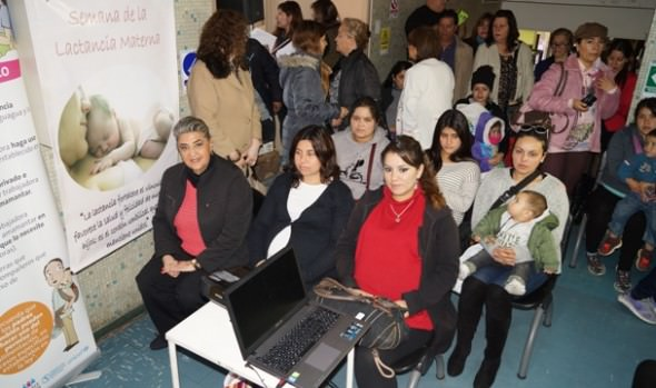Municipio viñamarino apoya y promueve la importancia de la lactancia materna