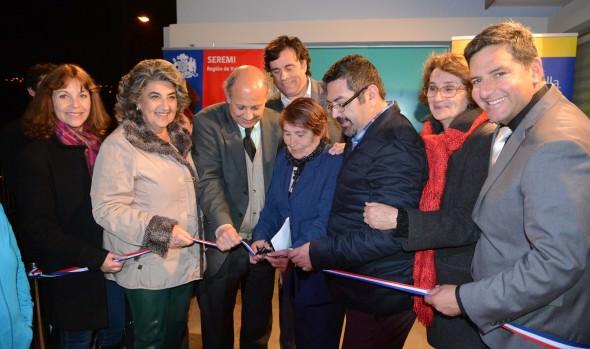 Inauguración de sede social en Glorias Navales fue encabezada por alcaldesa Virginia Reginato y autoridades regionales