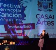Escolares mostraron su talento en 2° Festival interescolar de canto organizado por la Municipalidad de Viña del Mar