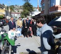 Vecinos de Chorrillos prueban alarmas comunitarias instaladas con Fondos concursable del  municipio de Viña del Mar