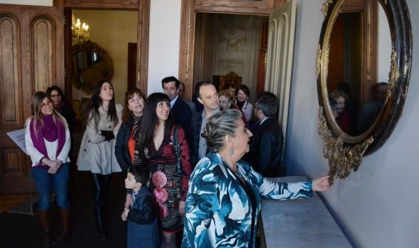 8 nuevos salones del Palacio Rioja habilitó Municipio de Viña del Mar para visitas del público