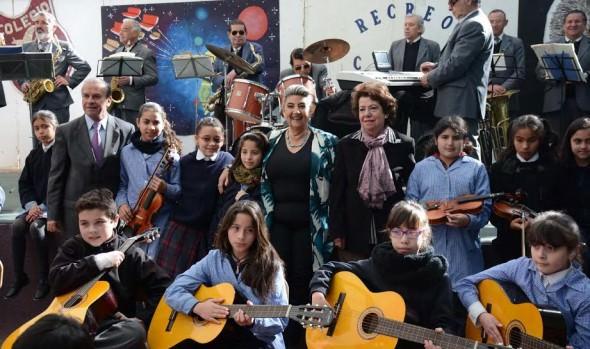 Estudiantes viñamarinos mostraron todo su potencial artístico en concierto didáctico
