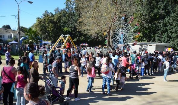 Miles de pequeños participaron en la clausura del Mes del niño organizada por la Municipalidad de  Viña del Mar