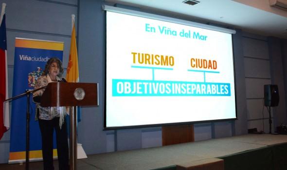 Acciones y desafíos para potenciar el turismo en Viña del Mar dio a conocer Virginia Reginato