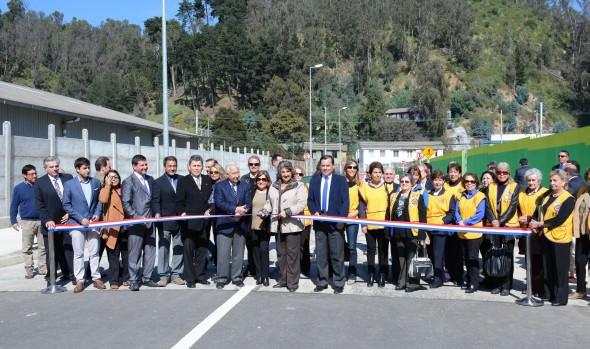 Nueva calle entregada al uso público permitirá acceso más expedito a sector El Salto