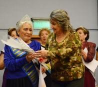 A la flamante Reina del Adulto Mayor 2016, coronó alcaldesa Virginia Reginato