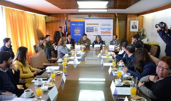 Nuevo  proyecto para Miraflores aprobó Consejo Comunal de Seguridad Pública de Viña del Mar