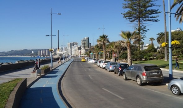 Municipio de Viña del Mar entrega al uso público Primera etapa de remodelación integral de Av. Perú