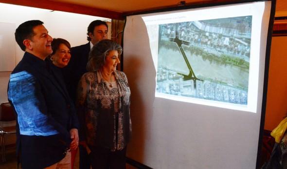 Municipio de Viña del Mar da a conocer diseño actualizado de puente Los Castaños