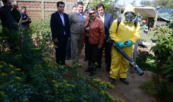 Municipio de Viña del Mar inició programa de control contra la garrapata