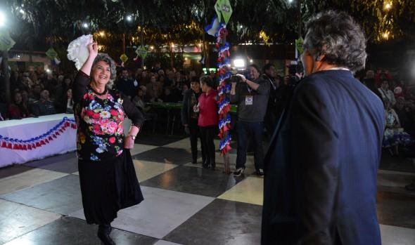 Celebración de Fiestas Patrias en Viña del Mar  inauguró alcaldesa Virginia Reginato