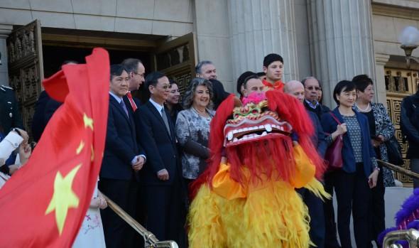 Invitación a participar en VIII semana de la Cultura China en Viña del Mar realizó alcaldesa Virginia Reginato
