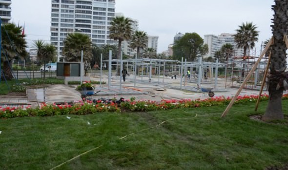 Plaza de artesanos de Viña del Mar se encuentra en fase final de habilitación