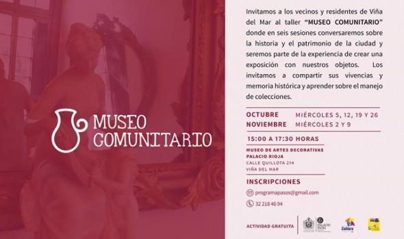 A inédito taller de Museo Comunitario convoca municipio de Viña del Mar