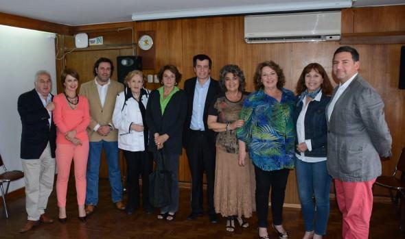 Deseos de éxito expresó alcaldesa Virginia Reginato a ex concejal Andrés Celis