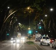 Municipio viñamarino recambia 1.280 luminarias en sector Población Vergara