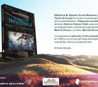 """Municipalidad de Viña del Mar invita a presentación de novela  """"Valparaíso Invisible"""""""