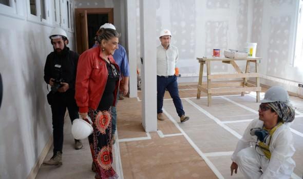 OBRAS DE RESTAURACIÓN DEL PALACIO VERGARA PRESENTAN UN 30% DE AVANCE