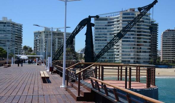Muelle Vergara recupera su rol como hito turístico de Viña del Mar