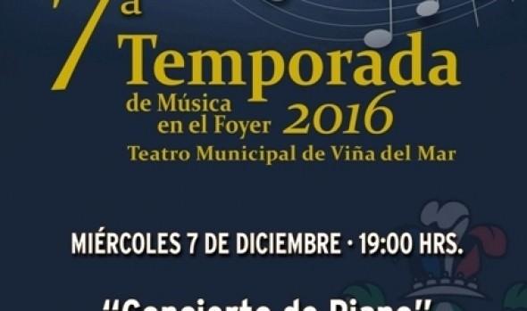 Municipalidad de Viña del Mar invita a concierto de  Italo Olivares y alumnos del Centro Cultural profesor Miguel Pizarro
