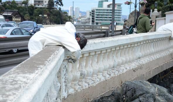 Sancionan con multa en dinero a grafiteros que rayaron bien patrimonial de Viña informó alcaldesa Virginia Reginato