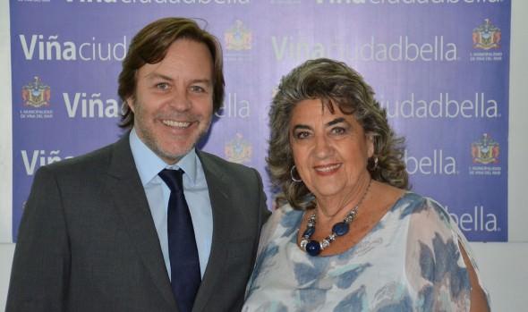 Nuevo presidente ejecutivo de Chilevisión se reunió con alcaldesa Virginia Reginato
