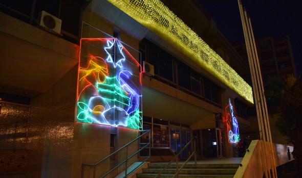 Inicio de encendido de luces ornamentales de Viña del Mar encabezó alcaldesa Virginia Reginato