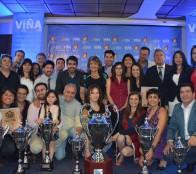 Campeones  de VII Olimpiada Interempresas y Servicios Públicos fueron premiados por alcaldesa Virginia Reginato