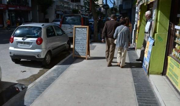 Municipio de Viña del Mar concluyó trabajos de reposición de aceras en calle Ecuador