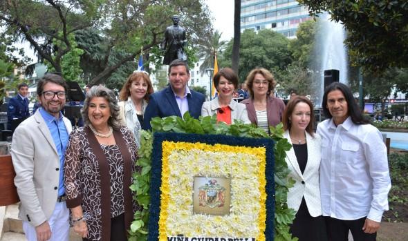 Con nuevos desafíos, Viña del Mar celebró los 142 años de su fundación