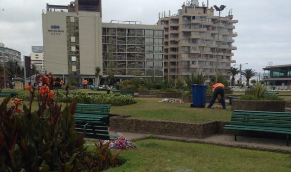Nuevos elementos de apoyo implementará municipio de Viña del Mar para aseo en Año Nuevo