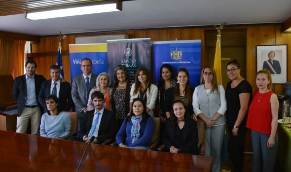 Municipio de Viña del Mar  y UST firmaron convenio de asistencia judicial