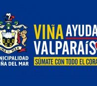 Municipalidad de Viña del Mar inició  campaña de ayuda a Valparaíso