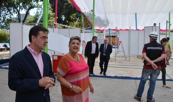 Preparativos para 35ª Feria Internacional del Libro de Viña del Mar inspeccionó alcaldesa Virginia Reginato